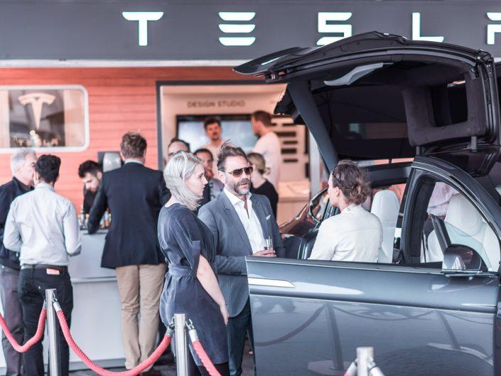 Tesla at Potsdamer Platz